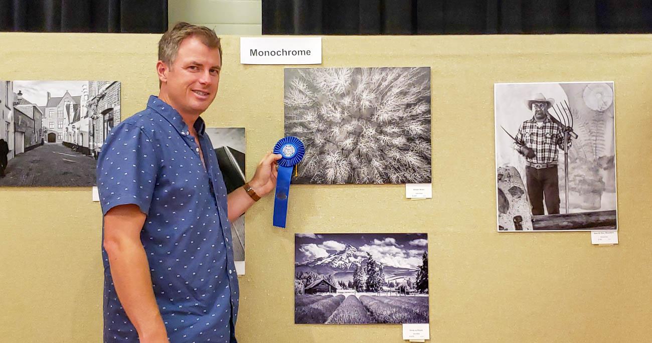 Scott Kemp Winning First Place at State Fair 2019